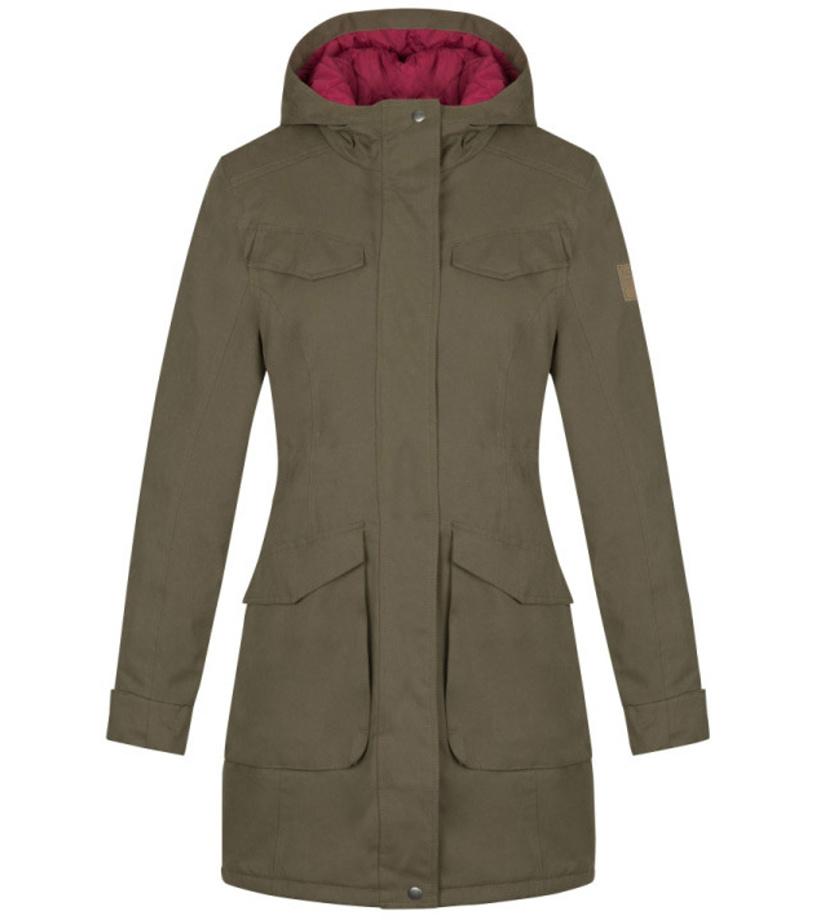 LOAP NADETTA Dámský zimní kabát CLW1895P34P Dark Olive XS