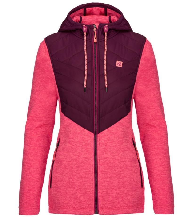 LOAP GAYA Dámský sportovní svetr OLW1836H14X Jezzy Neon Melange XS