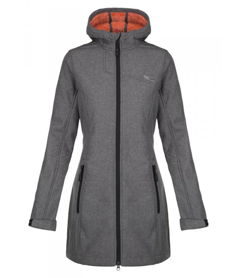 LOAP LAVINIA Dámský softshellový kabát SFW1814T49X šedá XS