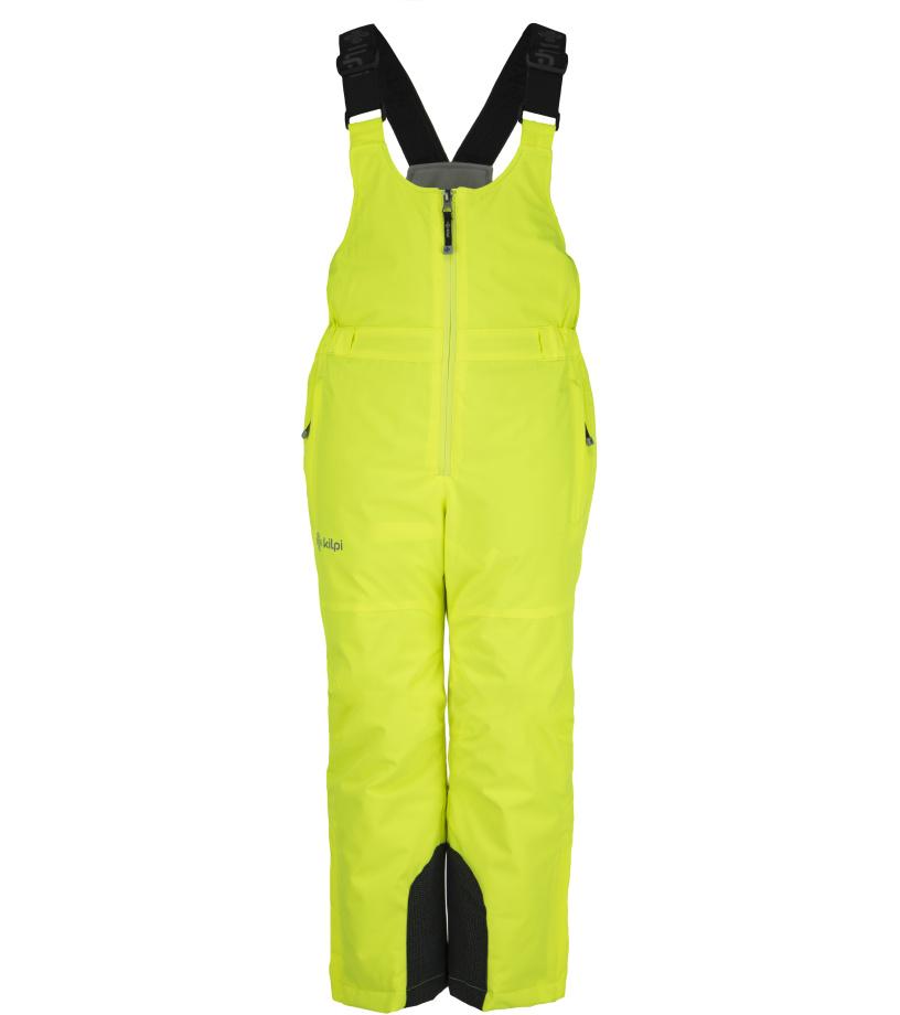 KILPI Dívčí lyžařské kalhoty MIA-JG JJ0046KIYEL Žlutá