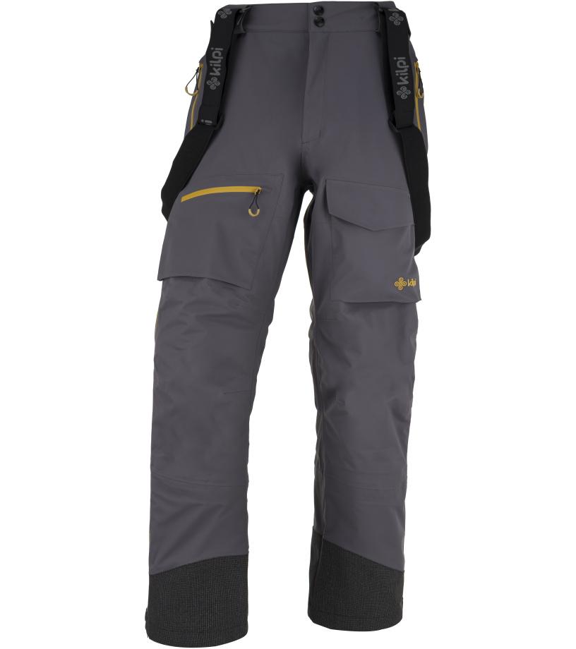 KILPI Pánské technické kalhoty HYDE-M JM0027KIDGY Tmavě šedá