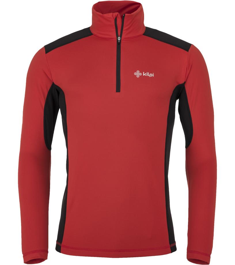 8a832426c KILPI Pánské funkční tričko WILKE-M JM0037KIRED Červená XL