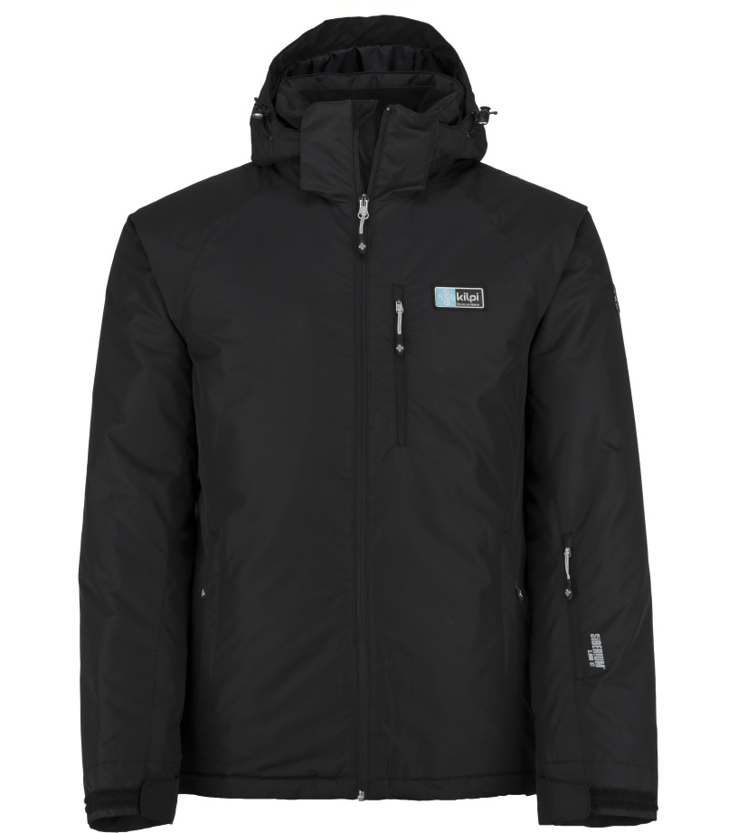 KILPI Pánská lyžařská bunda CHIP-M JM0077KIBLK Černá