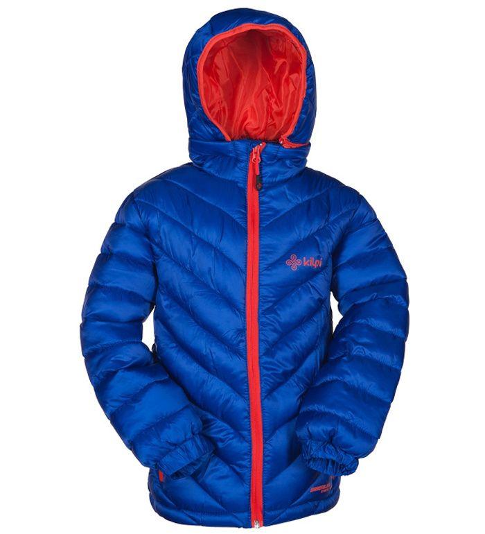 KILPI Dětská zimní bunda BAKKILA-K BK0016KIBLU Modrá 134_140