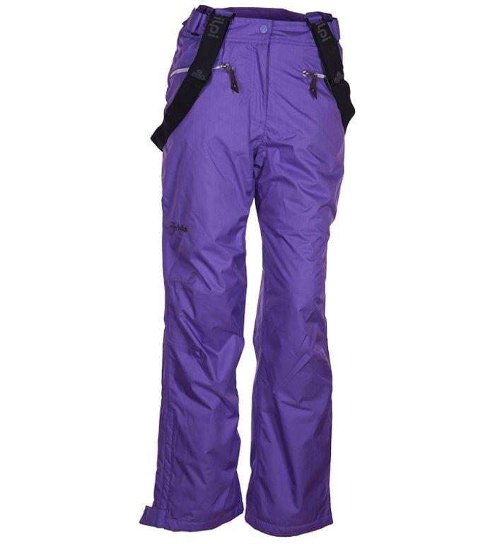 KILPI Dámské snowboardové kalhoty KAKSI BL0033KIVLT Fialová 40