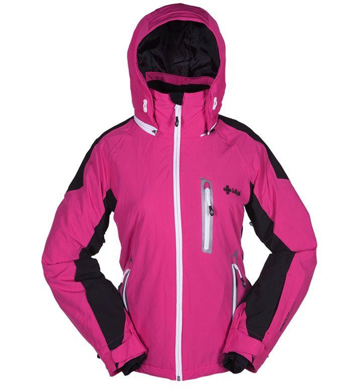KILPI Dámská lyžařská bunda LOBAGA BL0057KIPNK Růžová 42
