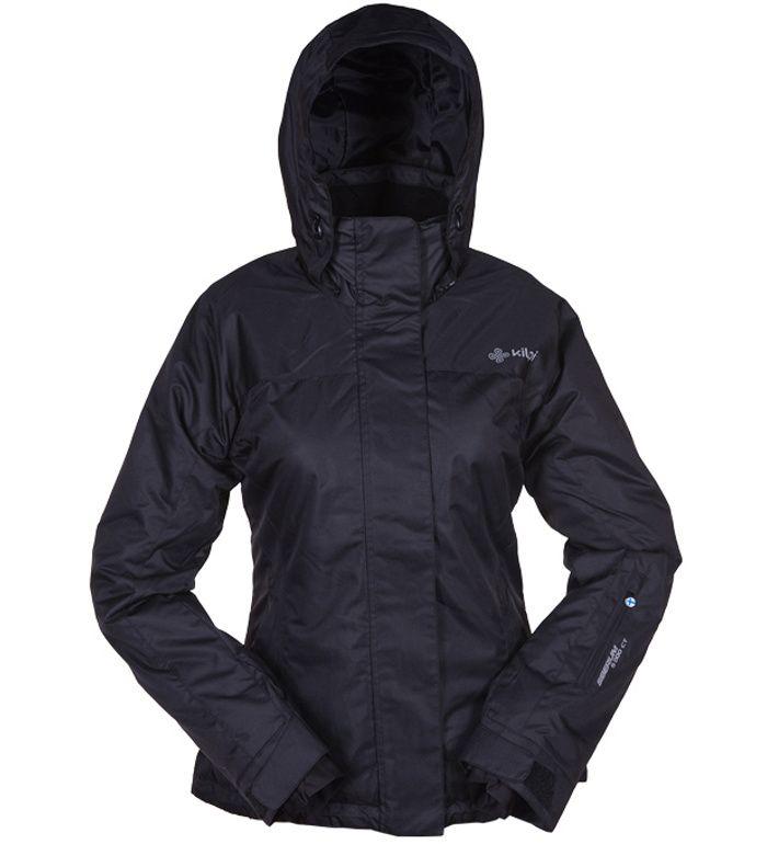 KILPI Dámská lyžařská bunda KOSKI BL0063KIBLK Černá 42