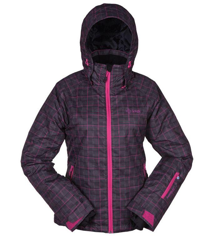 KILPI Dámská lyžařská bunda HILMA BL0073KIBLK Černá 42
