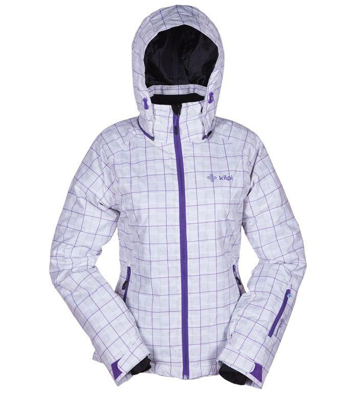 KILPI Dámská lyžařská bunda HILMA BL0073KIWHT Bílá 42