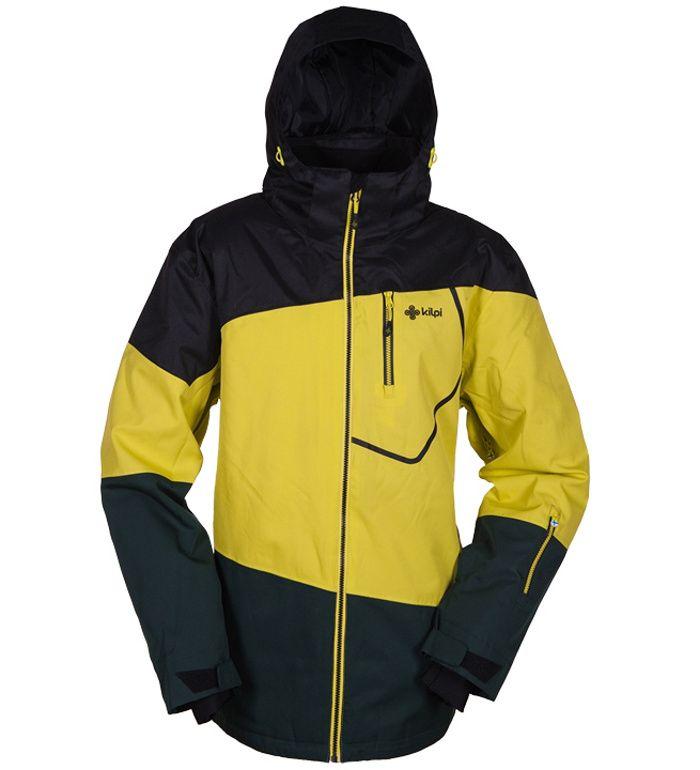 KILPI Pánská snowboardová bunda HAVAN BM0008KIYEL Žlutá XL