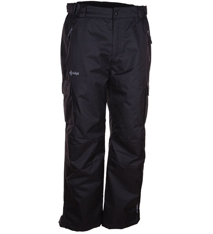 KILPI Pánské snowboardové kalhoty SAARI BM0034KIBLK Černá L