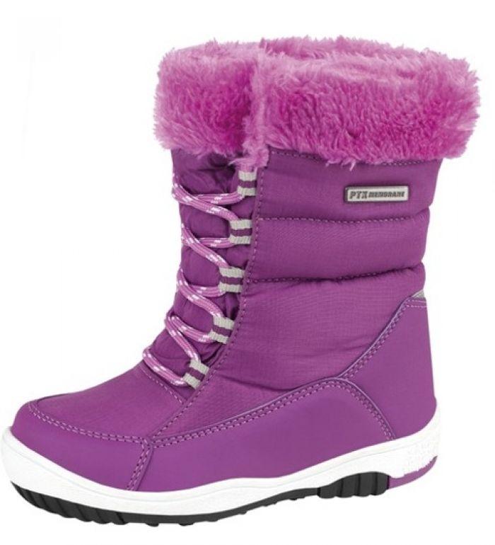 ALPINE PRO VESTAL Dětská zimní obuv KBTD097814 814 35