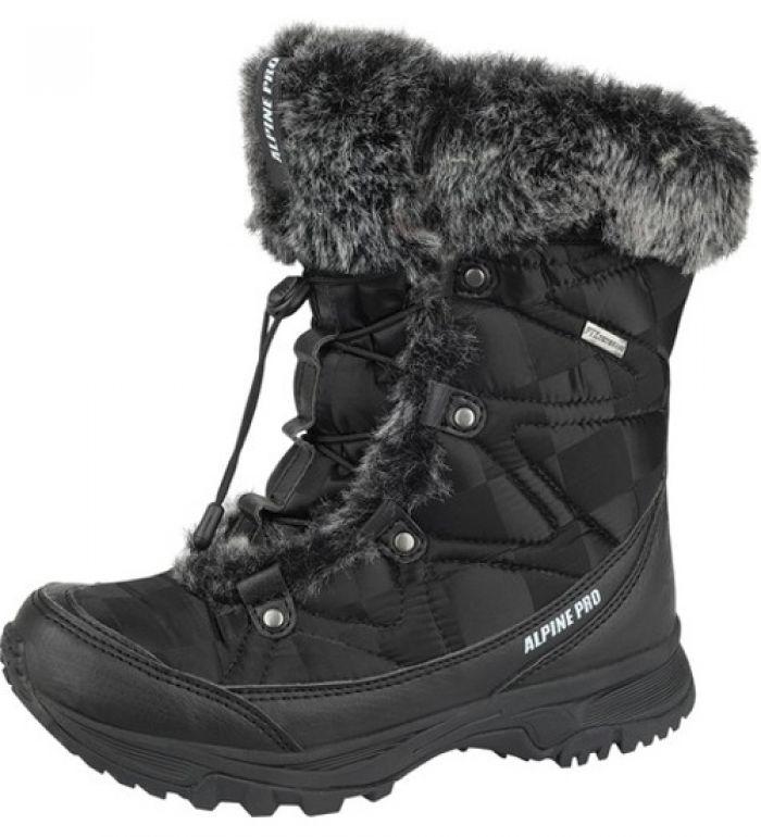 ALPINE PRO WINTER COUNTRY WM Dámská zimní obuv LBTD001990 černá 40