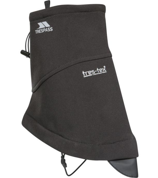 Trespass GETER Uni softshellové návleky na nohy UAACMIN20001-BLK BLACK OSFA