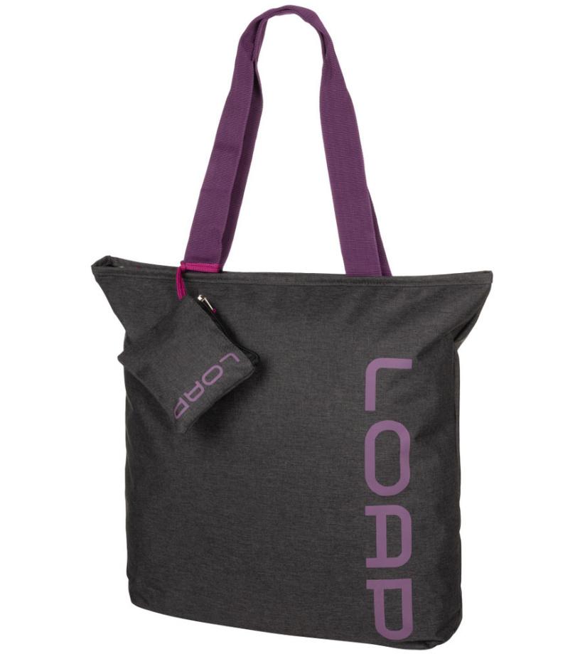 LOAP FALNIE Dámská kabelka BL19103V11K black/purple 3-4