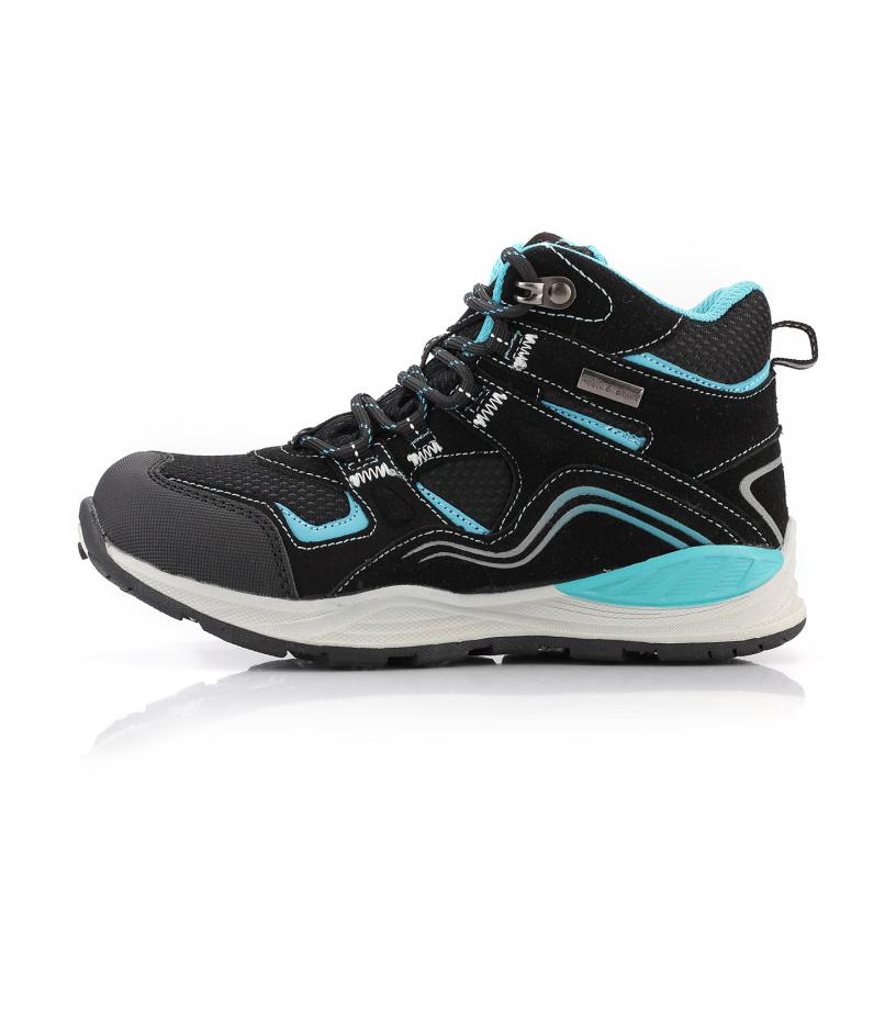 ALPINE PRO SIBEAL Dětská outdoorová obuv KBTL159990 černá 32