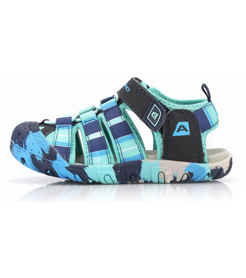 ALPINE PRO JIM Dětská letní obuv KBTL162670 yucca