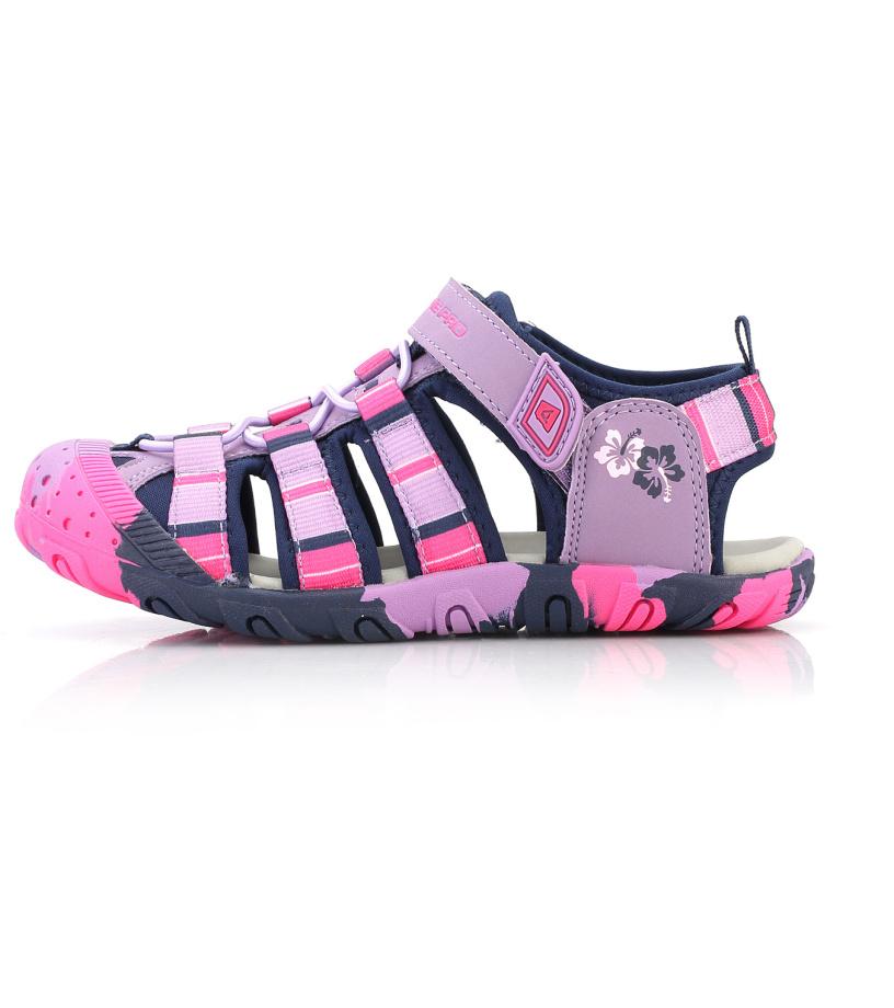 ALPINE PRO JIM Dětská letní obuv KBTL162808 buket