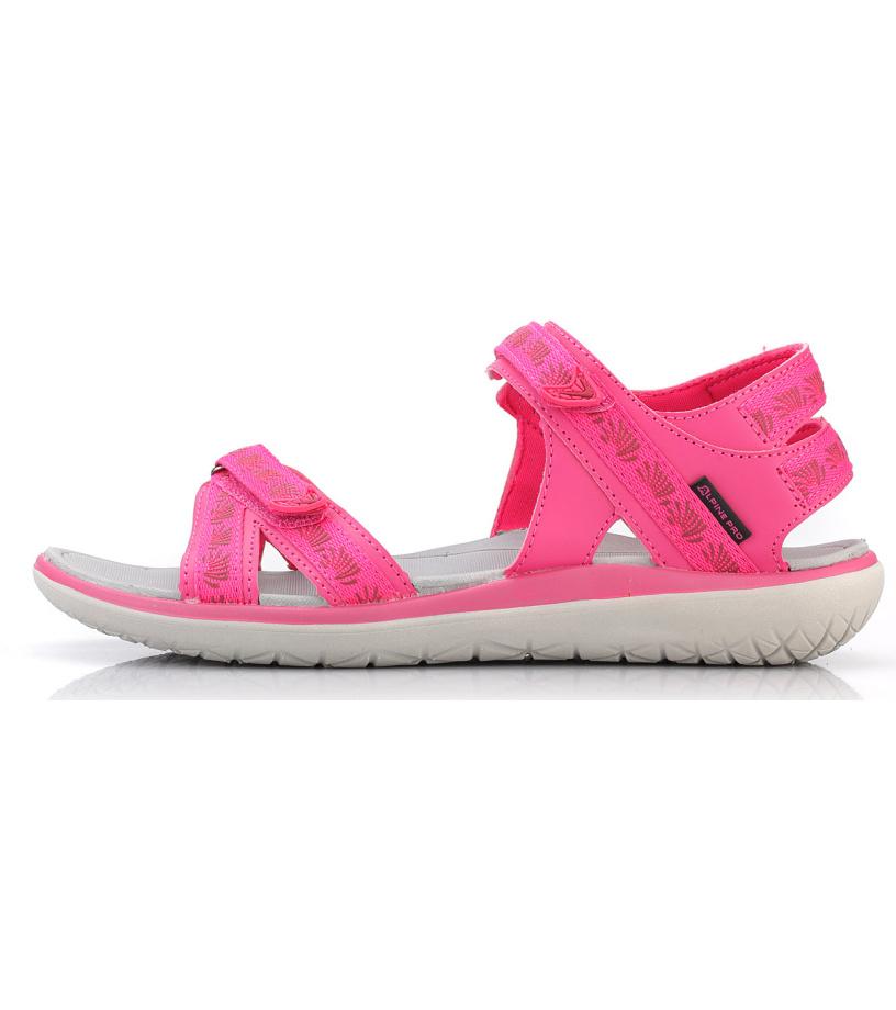 ALPINE PRO MOLLY Dámská letní obuv LBTL165450 virtual pink 37