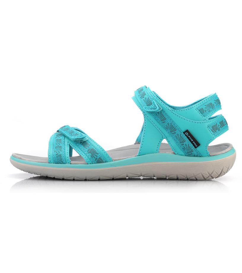 ALPINE PRO MOLLY Dámská letní obuv LBTL165609 baltic 37