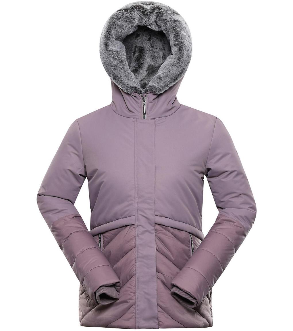 ALPINE PRO GABRIELLA 4 Dámská zimní bunda LJCS406831 quail M-L