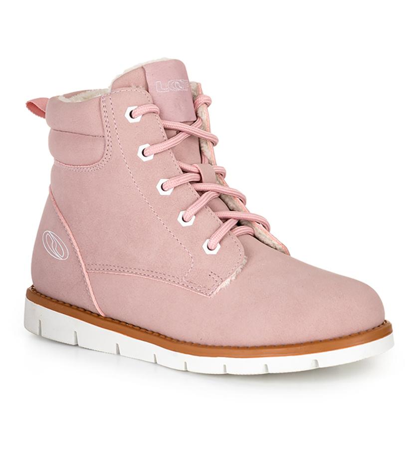 LOAP VIVA Dětské zimní boty KBJ20172J34A Candy Pink | White 28