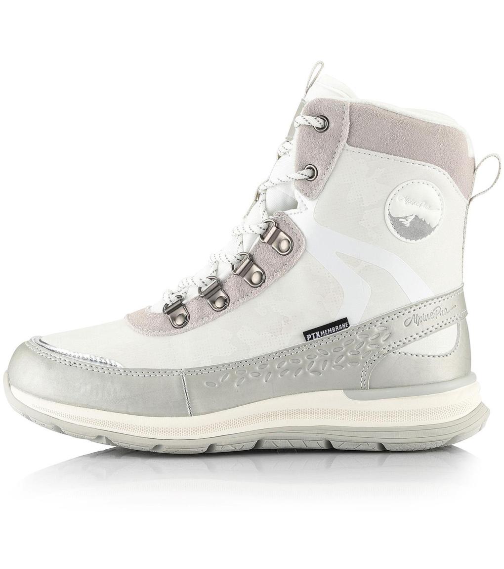 ALPINE PRO LUNEDA Dámská zimní obuv LBTS280000 bílá 38