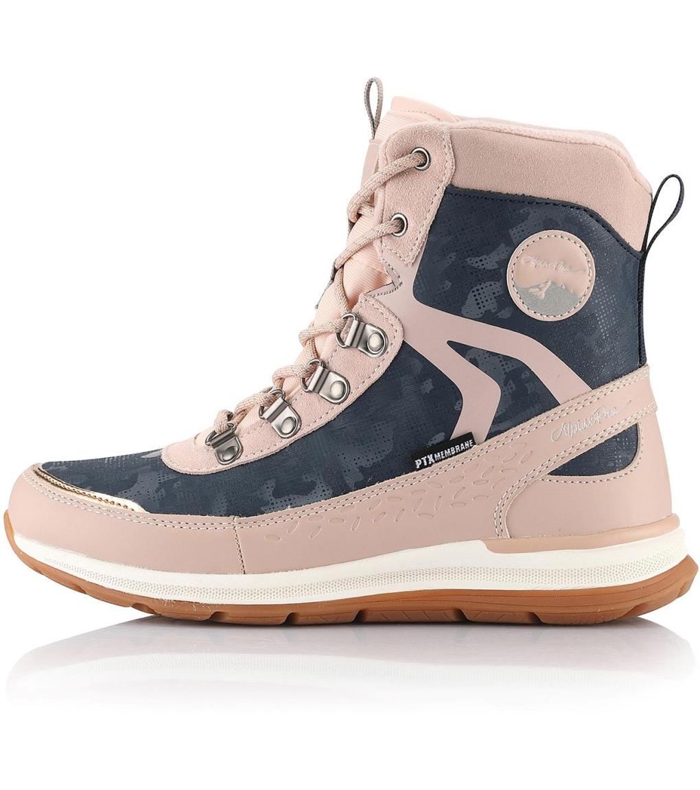 ALPINE PRO LUNEDA Dámská zimní obuv LBTS280455 pink icing 38