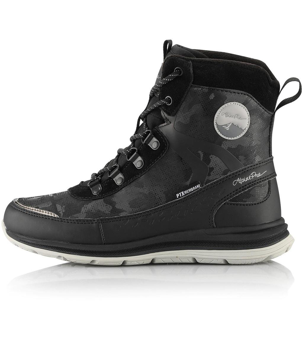 ALPINE PRO LUNEDA Dámská zimní obuv LBTS280990 černá 37