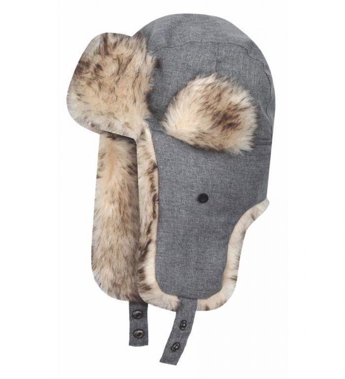 LOAP ZIMINA 1 Zimní čepice CSU1412T49T Dk Melange 52