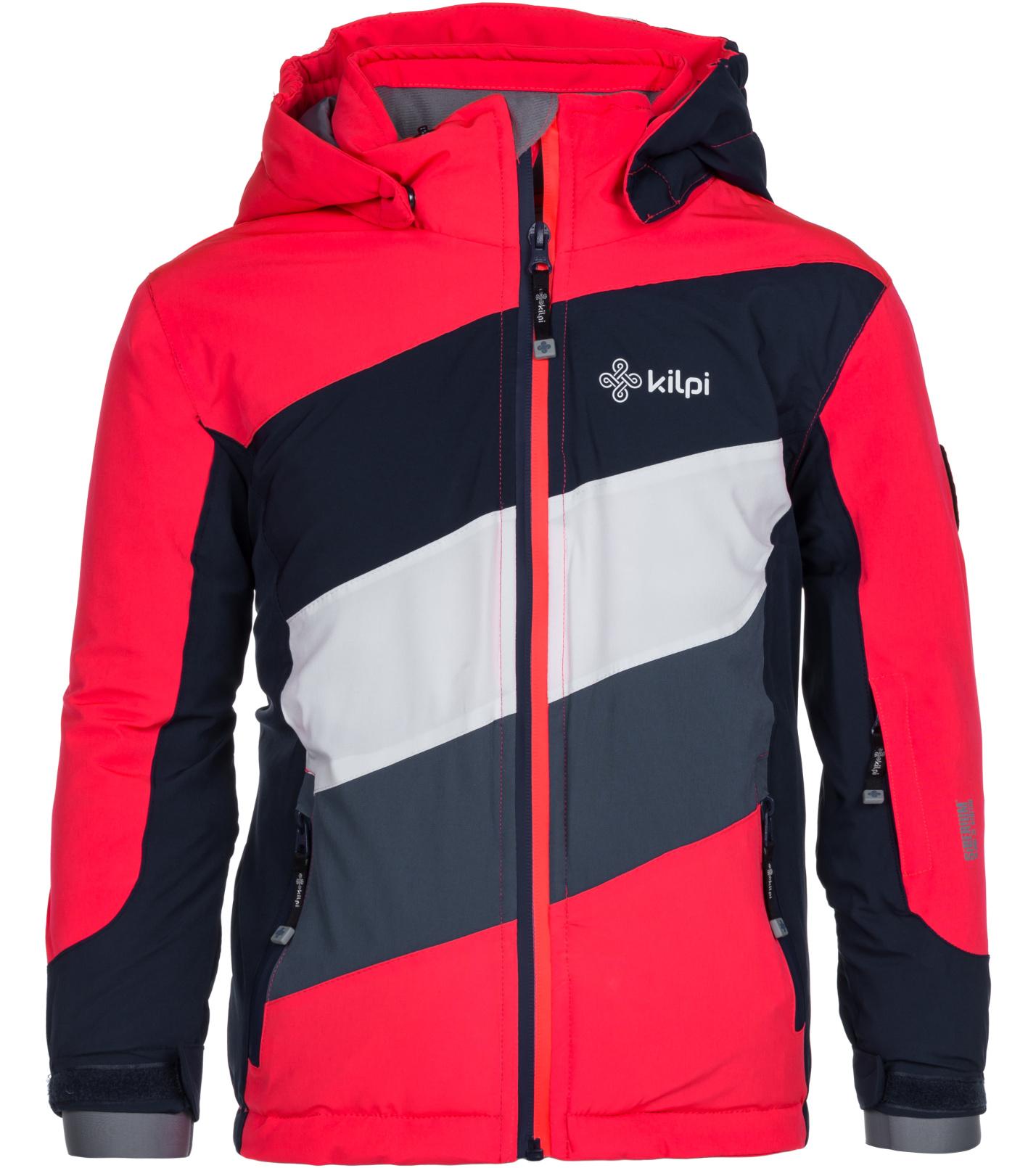 KILPI Dívčí lyžařská bunda SAARA-JG LJ0050KIPNK Růžová 146