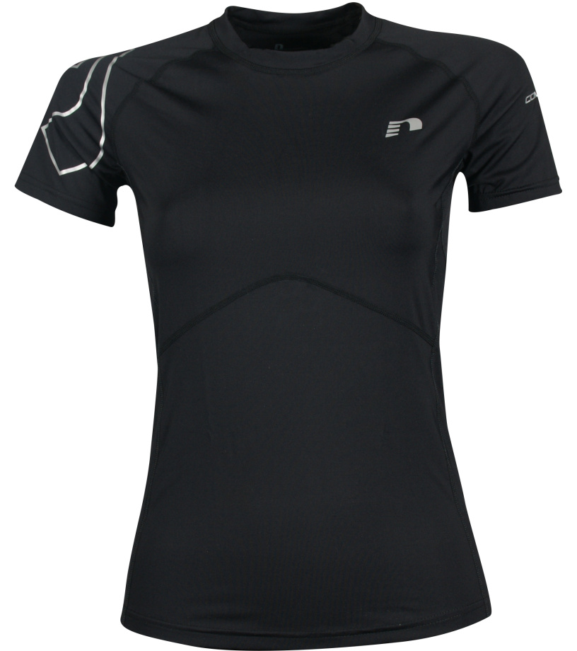 NEWLINE COMPRESSION Dámské kompresní tričko 10796-060 černá M