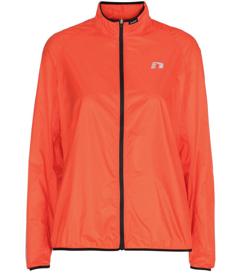 NEWLINE Windpack JKT Dámská běžecká bunda 13177-017 Oranžová S
