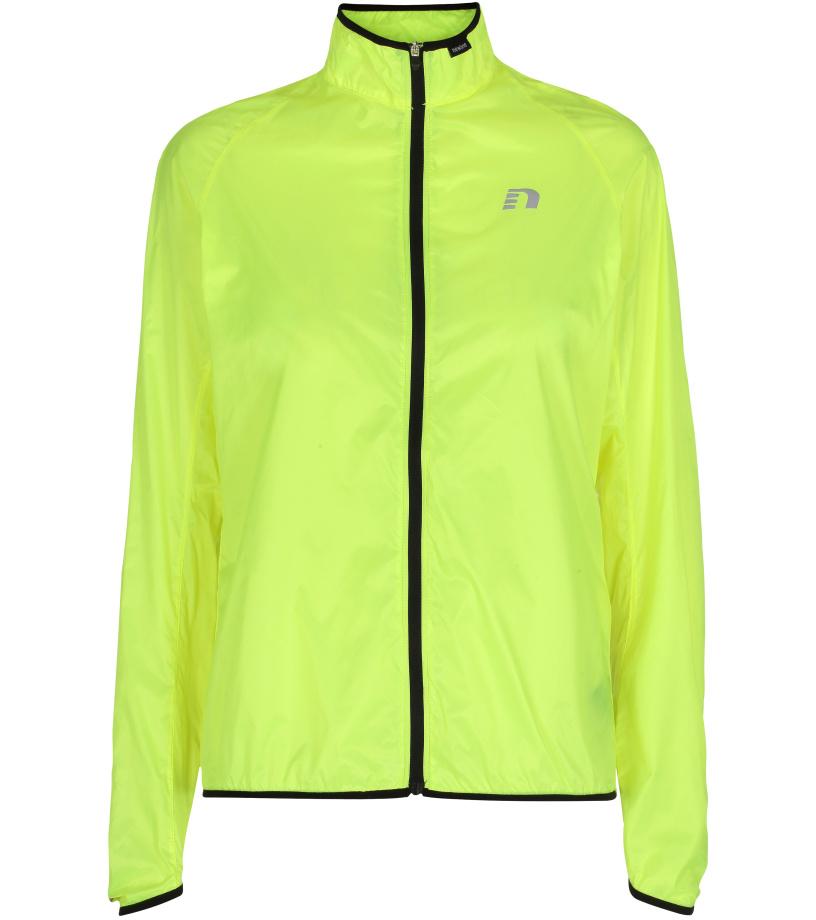 NEWLINE Windpack JKT Dámská běžecká bunda 13177-090 neonově žlutá S