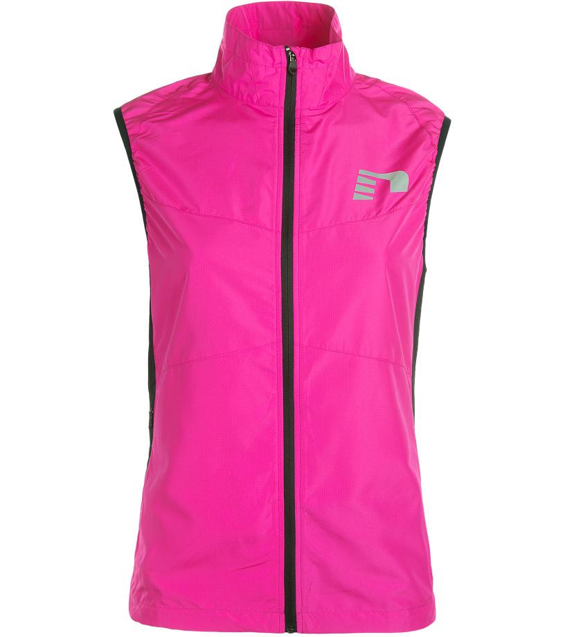 NEWLINE VISIO Dámská běžecká vesta 13194-600 Růžová XS