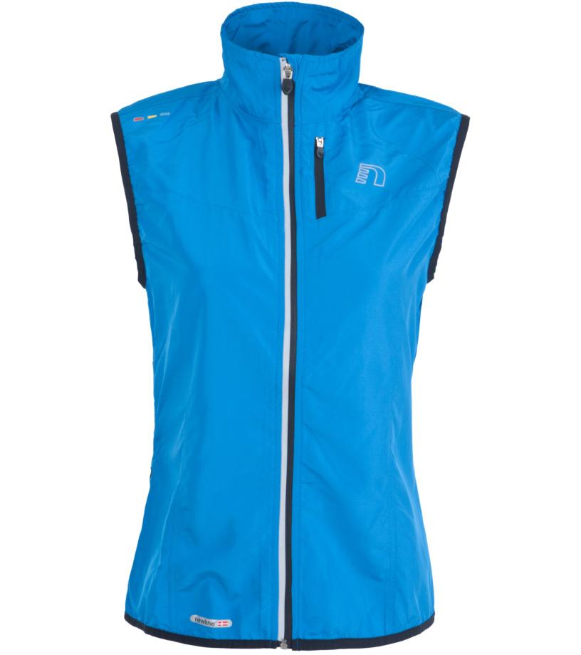 NEWLINE BASE Tech Dámská běžecká vesta 13247-016 Modrá XS