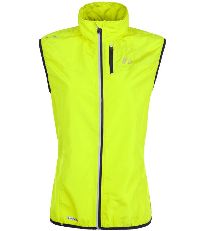 NEWLINE BASE Tech Dámská běžecká vesta 13247-090 neonově žlutá XS