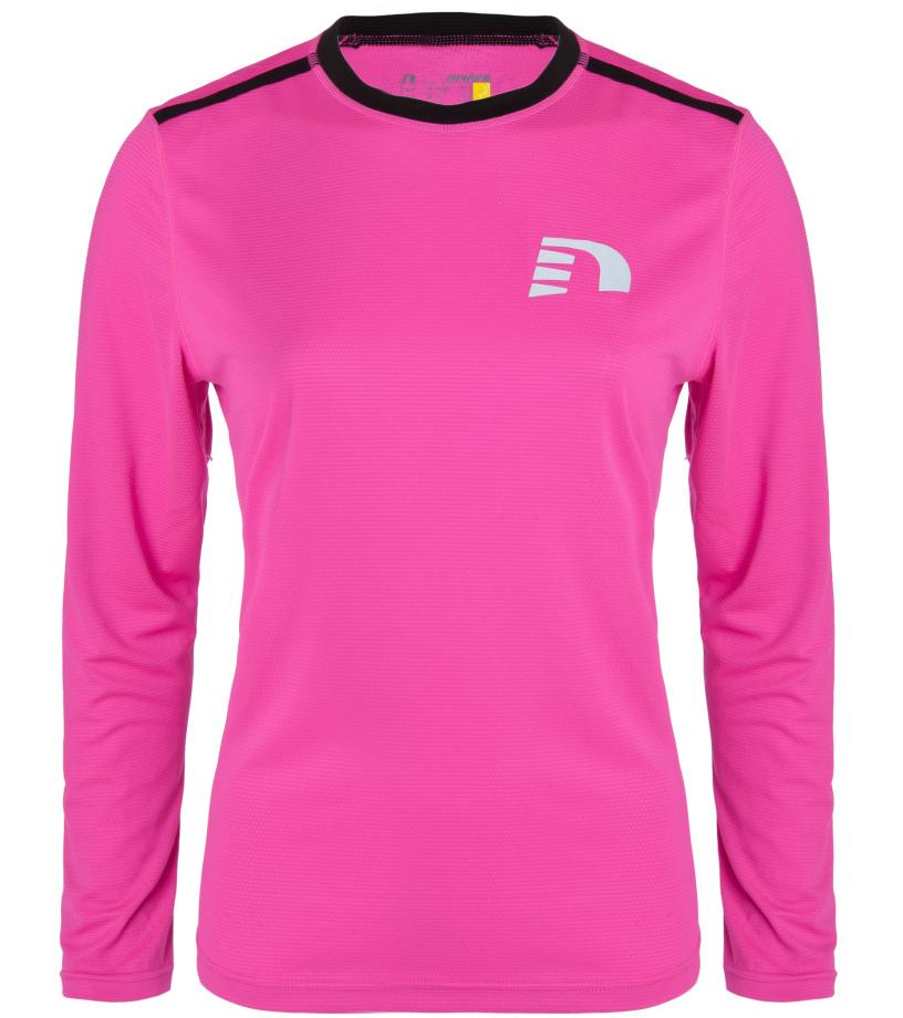 bf0d8c43c758 NEWLINE VISIO Dámské běžecké tričko 13316-600 Růžová M