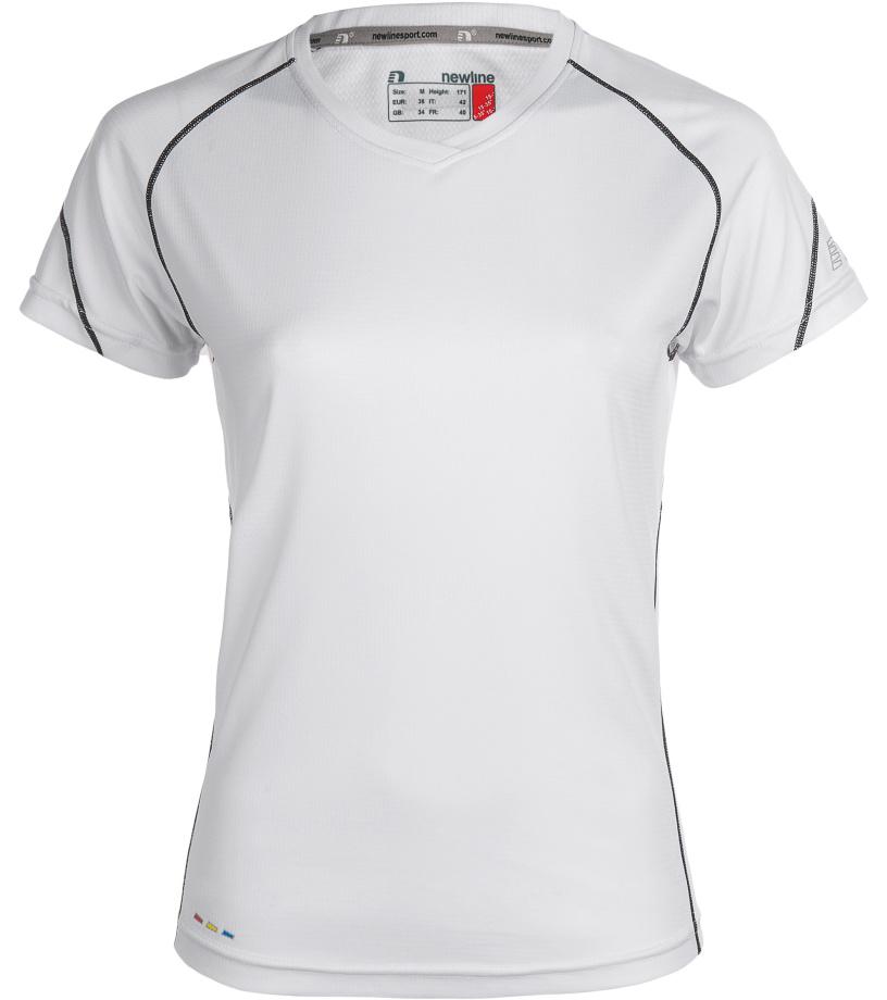 NEWLINE BASE Coolskin Dámské běžecké tričko 13603-020 Bílá S