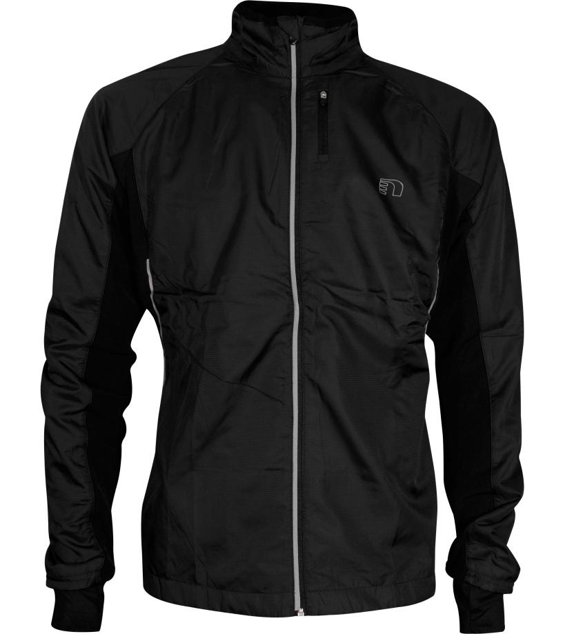 NEWLINE Base Cross JKT Pánská běžecká bunda 14089-060 černá M