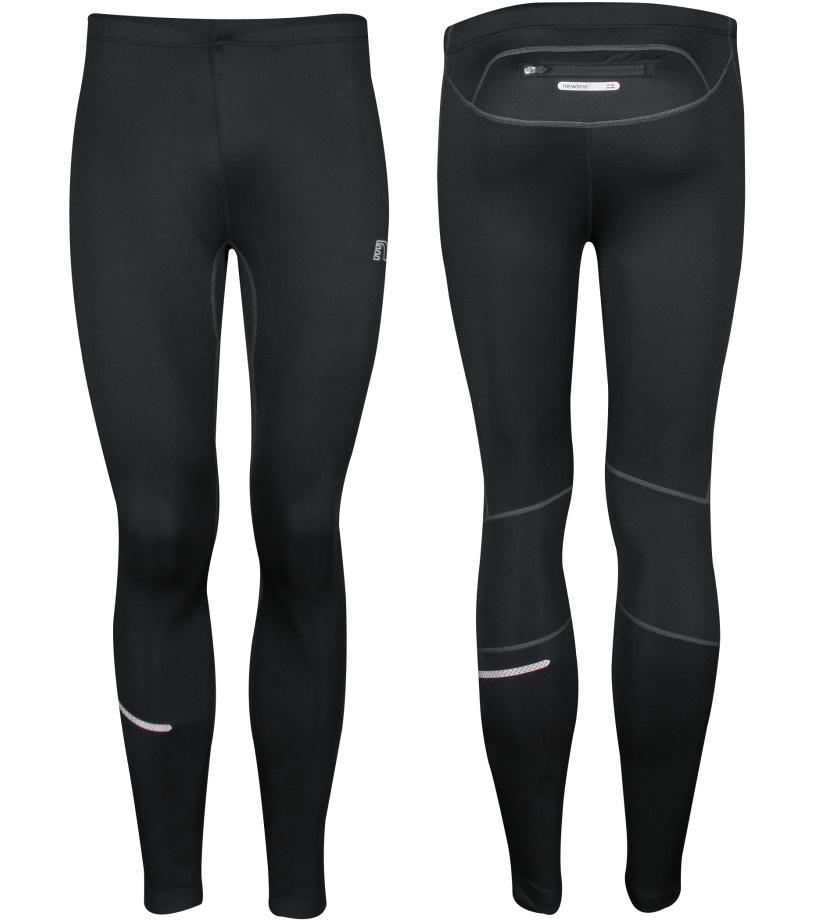 NEWLINE BASE WINTER Pánské běžecké kalhoty 14129-060 černá