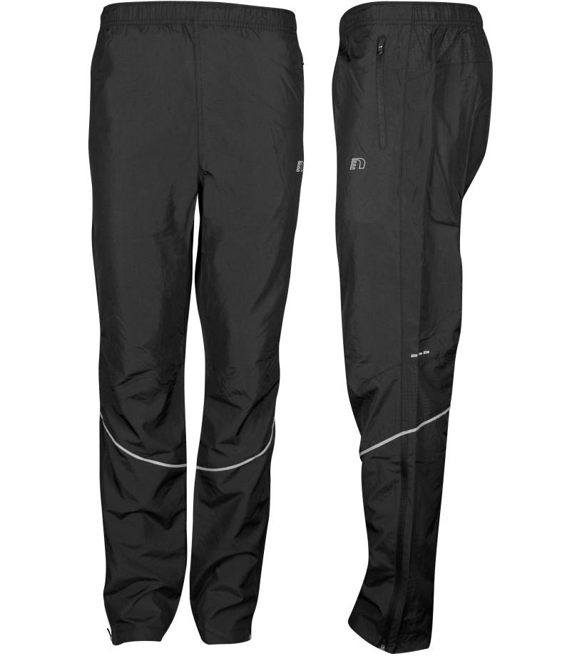 NEWLINE BASE Pánské běžecké šusťákové kalhoty 14282-060 černá S