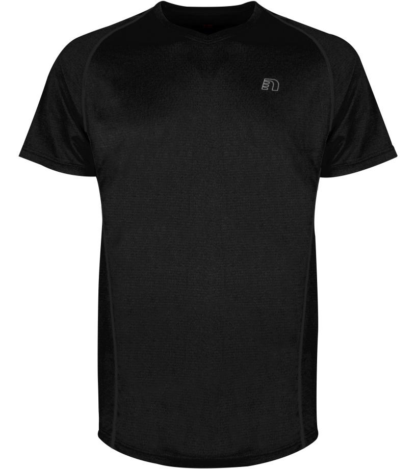 NEWLINE BASE COOLSKIN Pánské běžecké tričko 14603-060 černá XS