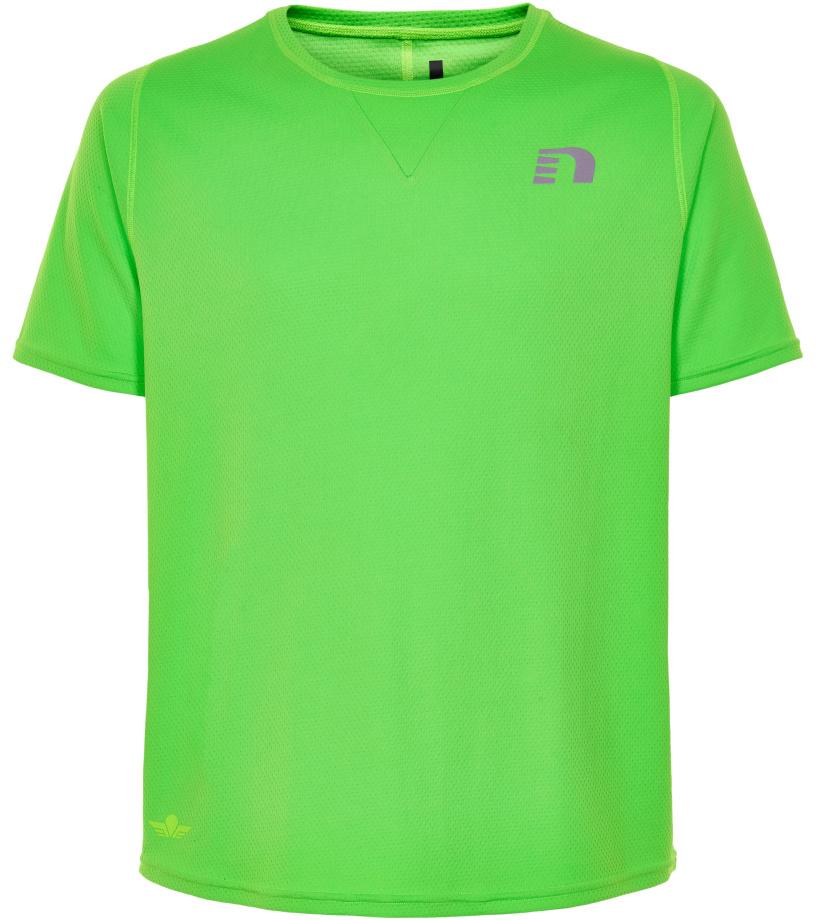 NEWLINE BLACK Pánské běžecké tričko 71376-455 Zelená