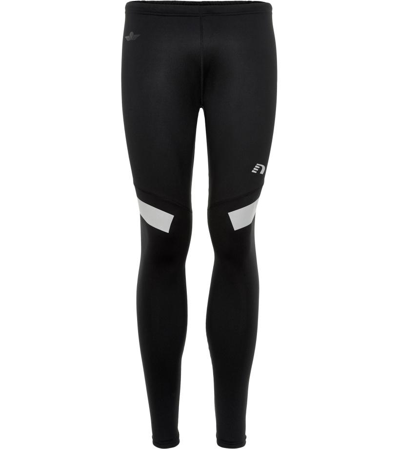 NEWLINE BLACK Pánské běžecké elastické kalhoty 71400-060 černá