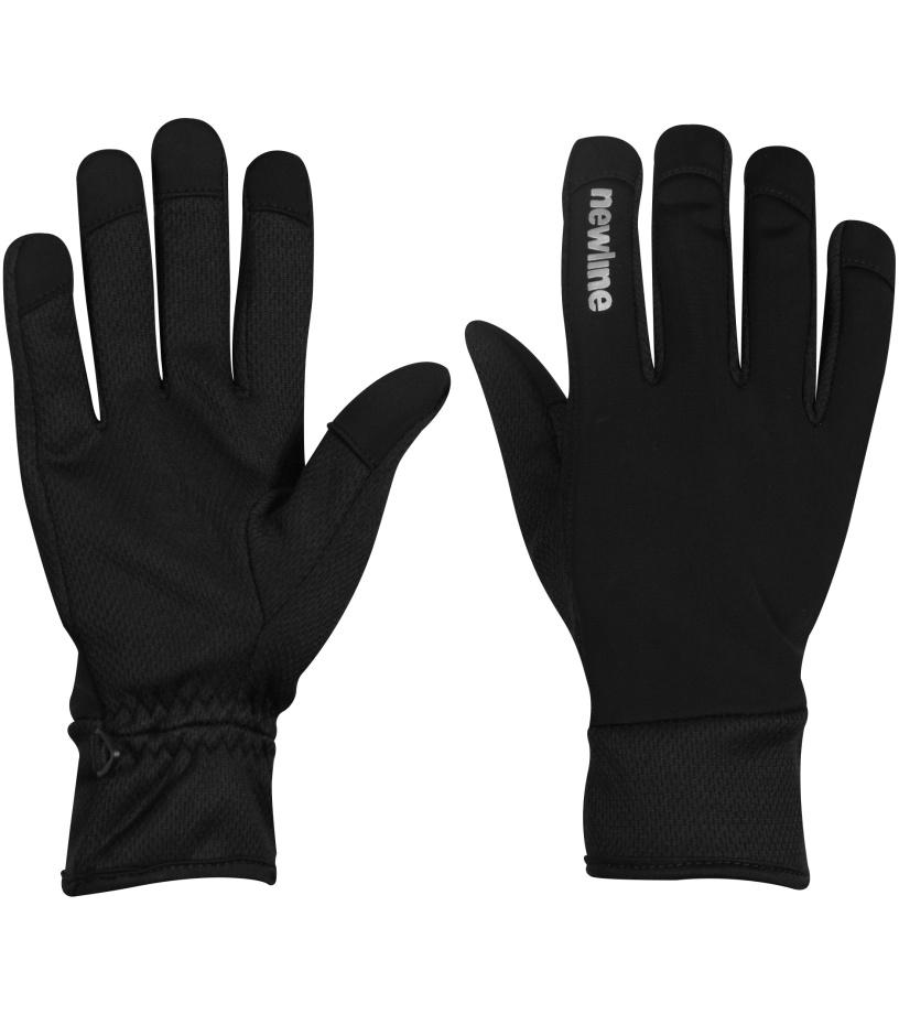 NEWLINE Běžecké rukavice 90885-06 Černá
