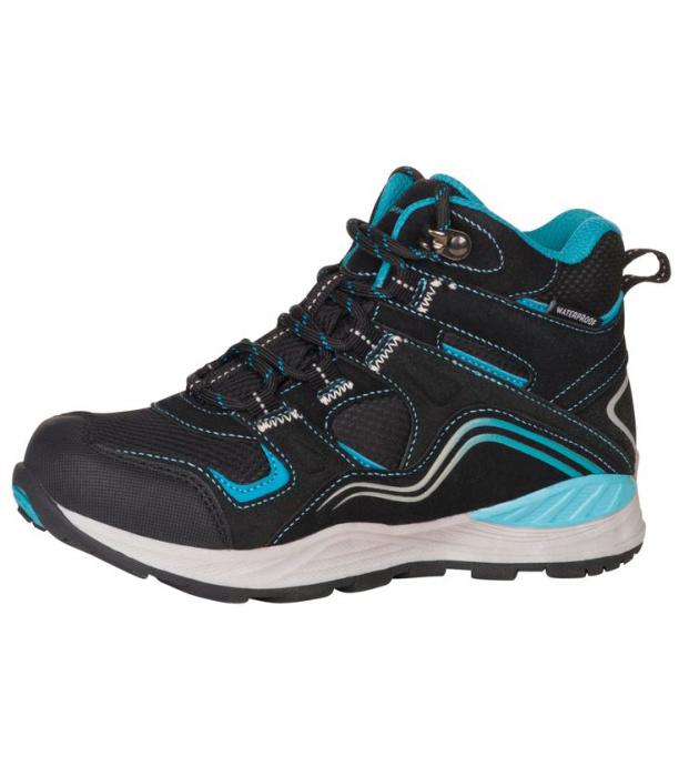 ALPINE PRO SIBEAL Dětská outdoorová obuv KBTM159990 černá 32