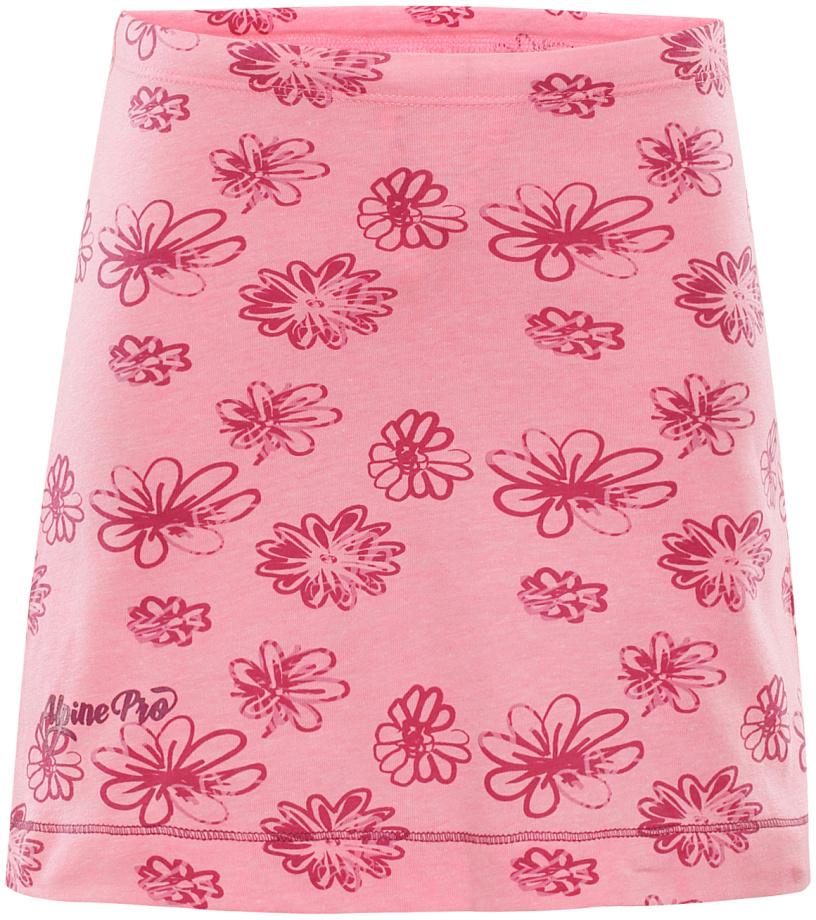ALPINE PRO LAUCO 2 Dětská sukně KSKL026452PB růžová 116-122