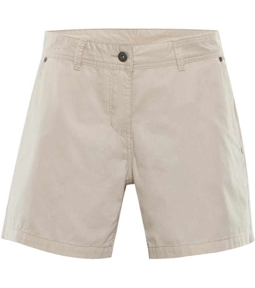 ALPINE PRO BLUEBELLA Dámské šortky LPAL221192 krémová