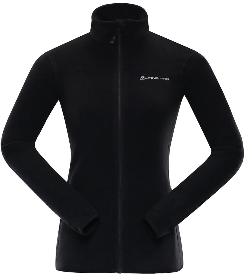 ALPINE PRO CASSIUSA 2 Dámská fleece mikina LSWL113990 černá XS
